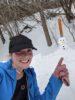 Mel and Mr Snowman NB