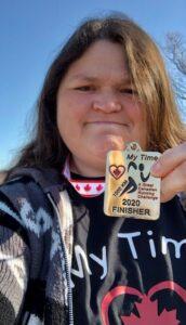 Cheryl Antonio 1000km finisher