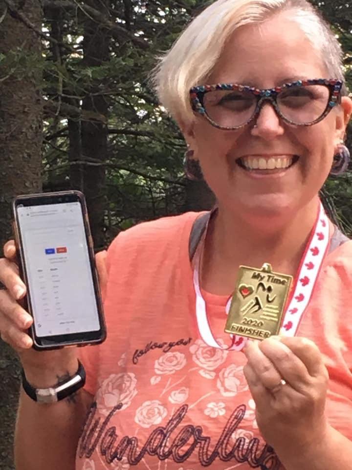 Lacie Parsons -1000k Finisher