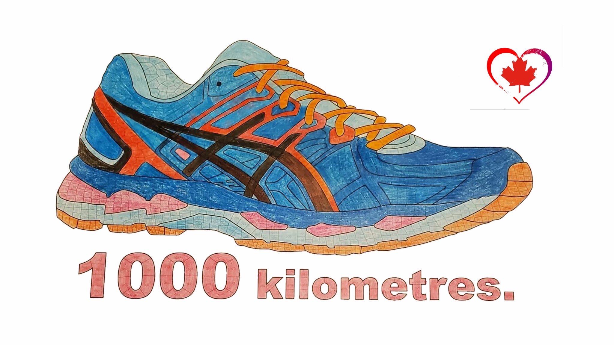 1000KM shoe
