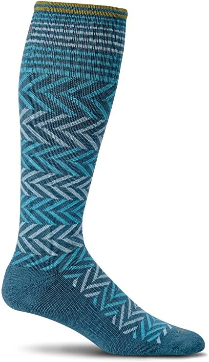 Sockswell Chevron Comression Socks for women